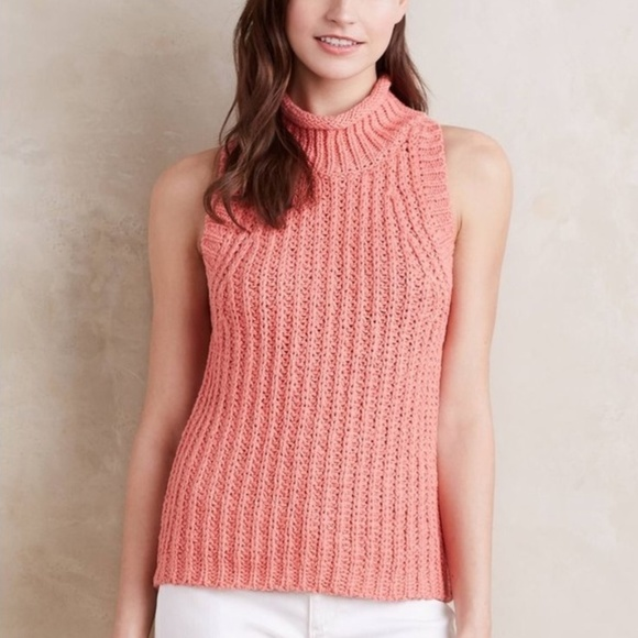Anthropologie Sweaters - Moth Anthropologie Chunky Knit Sweater Vest 3272